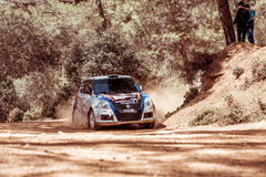 PAPHOS, CYPRUS - March 27, 2016:  39th Venus Rally in Panagia Fo Stock Image