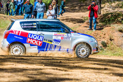 PAPHOS, CYPRUS - March 27, 2016:  39th Venus Rally in Panagia Fo Stock Images