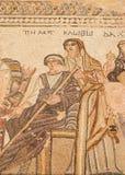 Paphos Dionysos house Stock Image