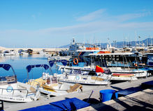 Paphos harbour Royalty Free Stock Photography