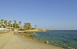 Paphos harbour in Cyprus Stock Photo