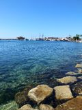 Paphos Harbour Stock Photography