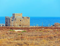 Paphos kasztel, Cypr Fotografia Royalty Free