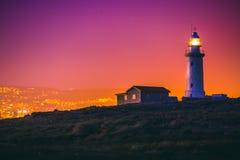Paphos-Leuchtturm Lizenzfreies Stockbild