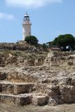 Paphos Light House Royalty Free Stock Photography