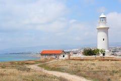 Paphos lighthouse Royalty Free Stock Photo