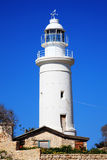 Paphos lighthouse Stock Images