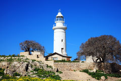 Paphos lighthouse Stock Photography