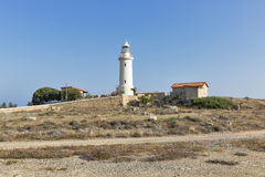 Paphos old lighthouse on Cyprus Stock Image