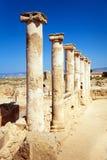 Paphos (Pafos) ruins, Cyprus Stock Photos