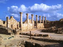 paphos ruins Stock Images