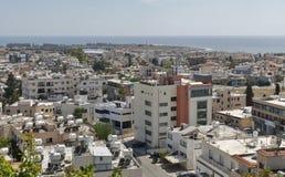 Paphos-Stadtbild in Zypern lizenzfreie stockbilder