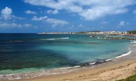 Paphos Strand in der Zypern-Insel stockfoto