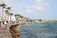 Paphos walk Royalty Free Stock Photo