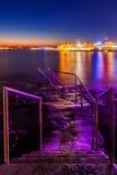 Paphos życie nocne Zdjęcia Royalty Free