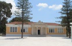 PaphosStadhuis in Paphos, Cyprus stock afbeelding