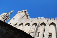 Papi Palace a Avignone Fotografia Stock Libera da Diritti