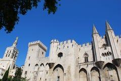 Papi Palace a Avignone Immagini Stock Libere da Diritti