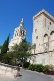 Papi Palace a Avignone Fotografia Stock