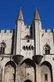 Papi Palace a Avignone Fotografie Stock