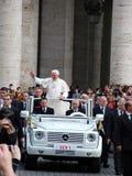 papież benedict xvi Fotografia Royalty Free