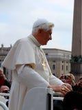 papież benedict xvi Fotografia Stock