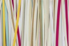 Papierów lampasy Obraz Stock