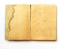 Papier âgé Photo libre de droits