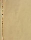Papier âgé Images libres de droits