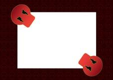 Papier 2 de Veille de la toussaint Photographie stock