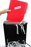 papier 2 shredder Zdjęcie Stock