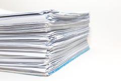Papier A4 Image stock