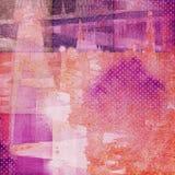 Papier abstrait de collage illustration libre de droits
