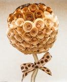 Papier abstrait de fleur Photographie stock libre de droits