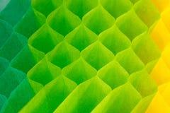Papier abstrait de nid d'abeilles. Photos stock