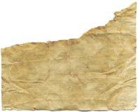 Papier antique déchiré Photos libres de droits