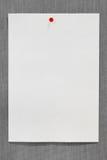 Papier auf einem Brett Lizenzfreie Stockfotografie