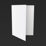 Papier auf einem schwarzen Hintergrundspott oben vektor abbildung