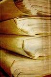 Papier auf grunge Hintergrund Stockbild
