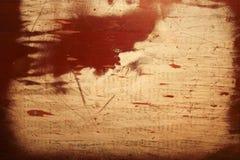 Papier auf Holz Stockfotografie
