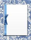 Papier auf Weinlese-Spitze Stockbilder