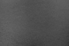 Papier blady czarny kolor z openwork teksturą Zdjęcie Royalty Free