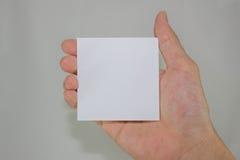 Papier blanc Photos stock