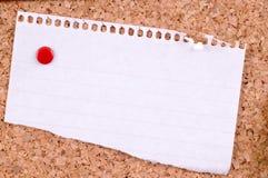 Papier blanc Image stock