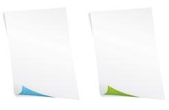 Papier blanc. Concept d'environnement. Photo libre de droits