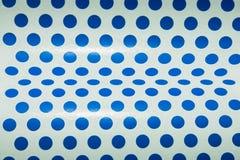 Papier bleu de point Image libre de droits