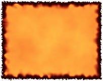 Papier brûlé Image libre de droits