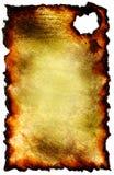 Papier brûlé illustration libre de droits