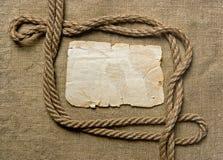 papier brezentowa stara arkana Zdjęcie Royalty Free