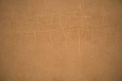 Papier brun antique ou vieux fond de papier de vintage Image libre de droits